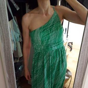 Tart One Shoulder Maxi Dress